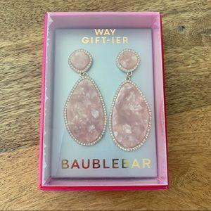 🎃 3/$20🎃New Baublebar Statement Pink Earrings